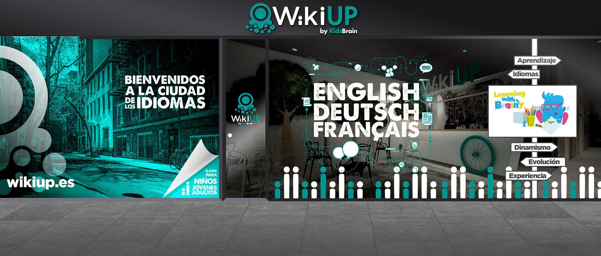 Franquicia WikiUP idiomas